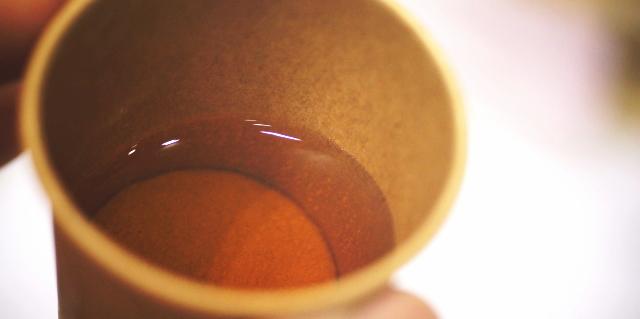 ゴボウ茶 味
