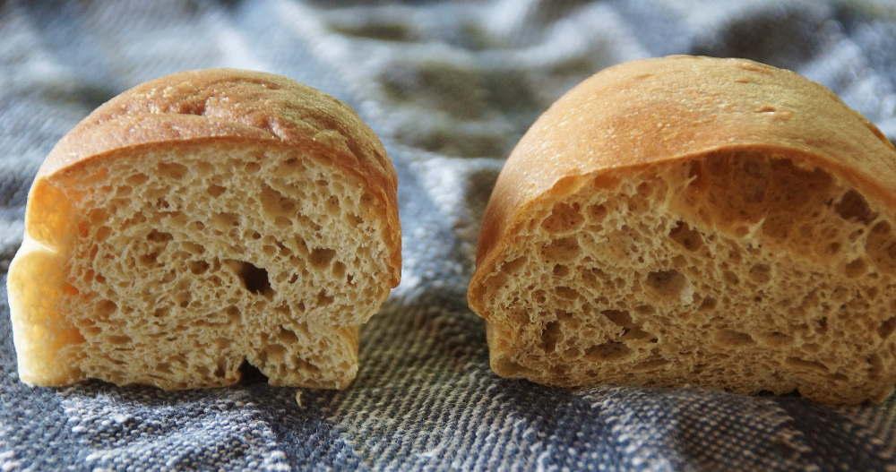 ふすまパン食べ比べ