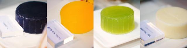 池田屋さんの石鹸 種類